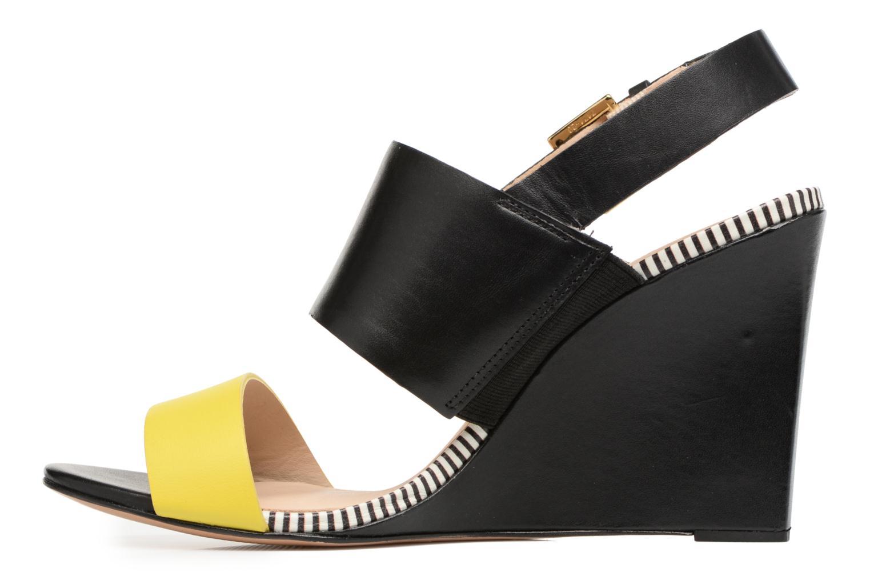 Sandalen COSMOPARIS Jaka/Nub Zwart voorkant