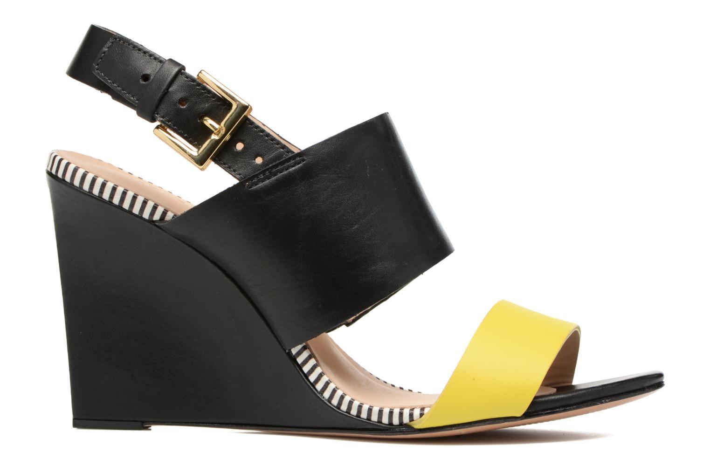 Sandales et nu-pieds COSMOPARIS Jaka/Nub Noir vue derrière