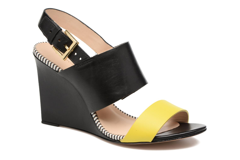 Sandaler COSMOPARIS Jaka/Nub Sort detaljeret billede af skoene