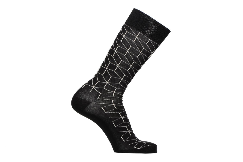 Chaussettes et collants Happy Socks Chaussettes Cubic Noir vue détail/paire