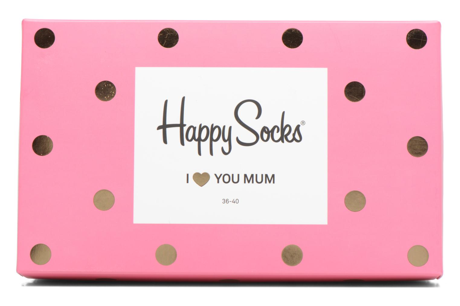 Medias y Calcetines Happy Socks Chaussettes Mom Gift Box Rosa vista lateral izquierda