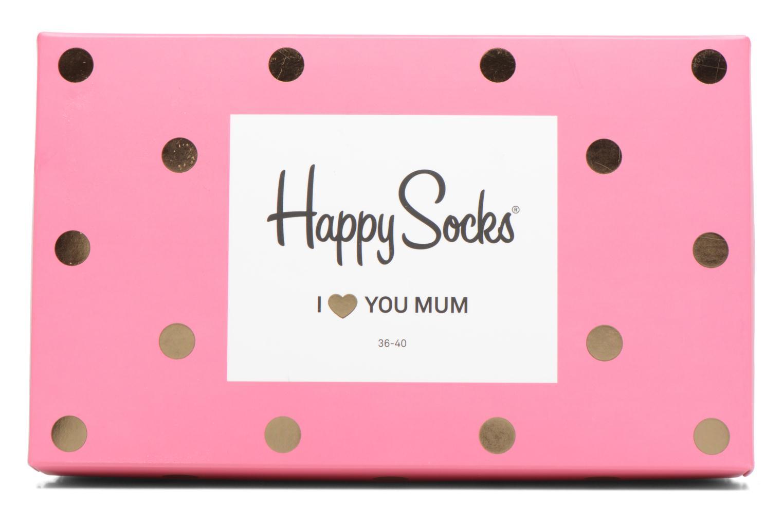 Strømper og tights Happy Socks Chaussettes Mom Gift Box Pink se fra venstre