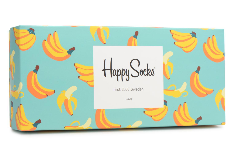 Calze e collant Happy Socks Chaussettes Classic Gift box Multicolore modello indossato
