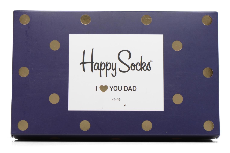 Calze e collant Happy Socks Chaussettes Dad Gift box Azzurro immagine sinistra