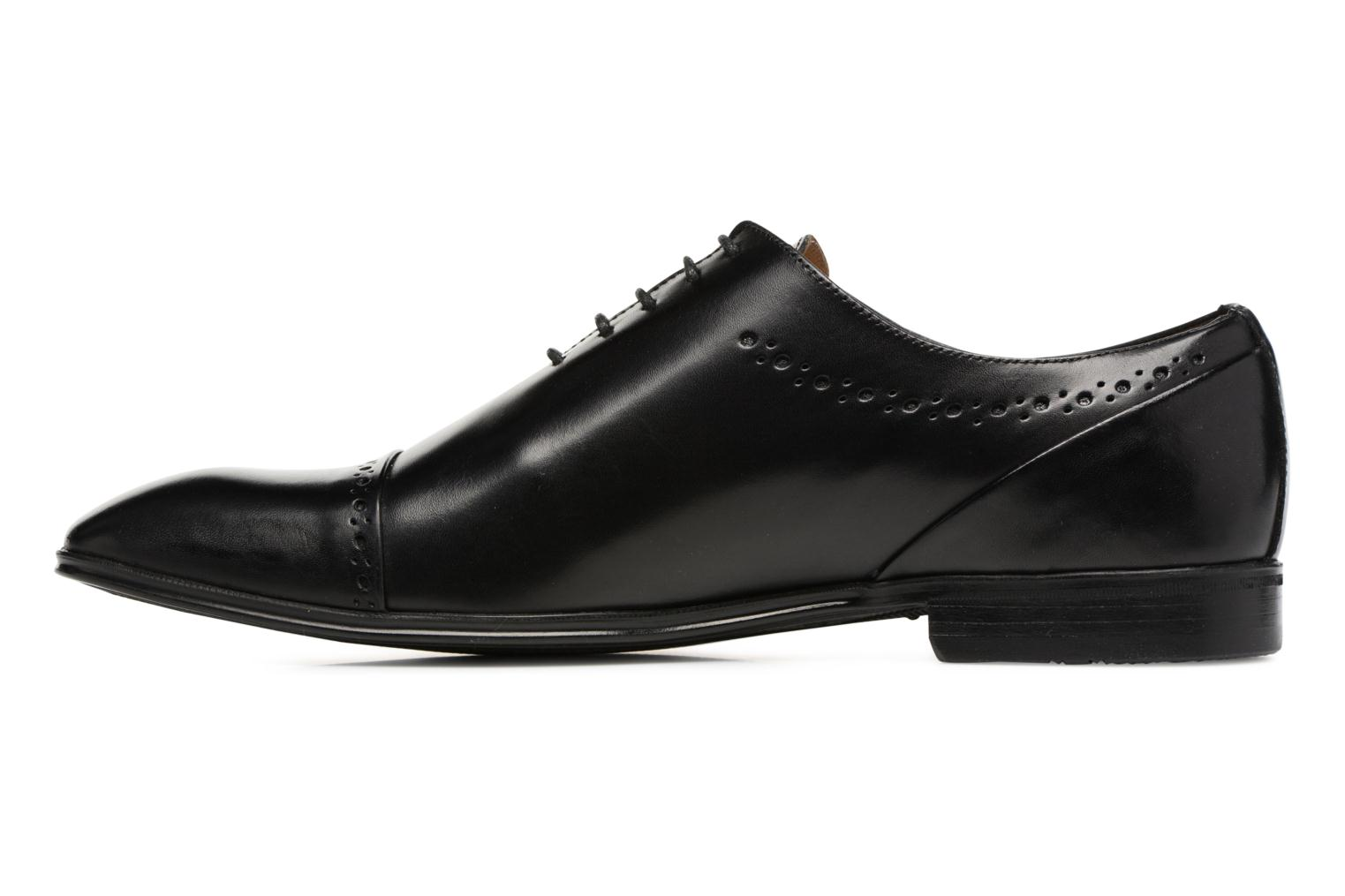 Lace-up shoes Marvin&co Tarbert Black front view
