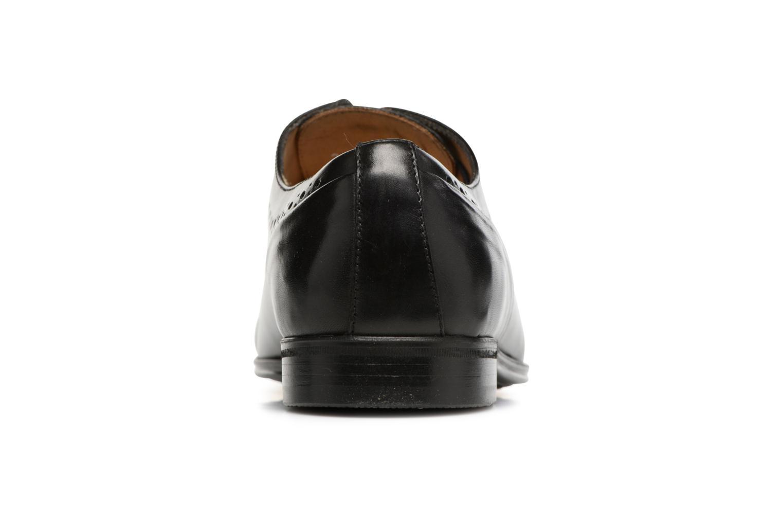 Zapatos con cordones Marvin&Co Tarbert Negro vista lateral derecha