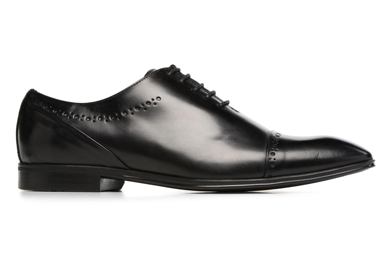 Zapatos con cordones Marvin&Co Tarbert Negro vistra trasera
