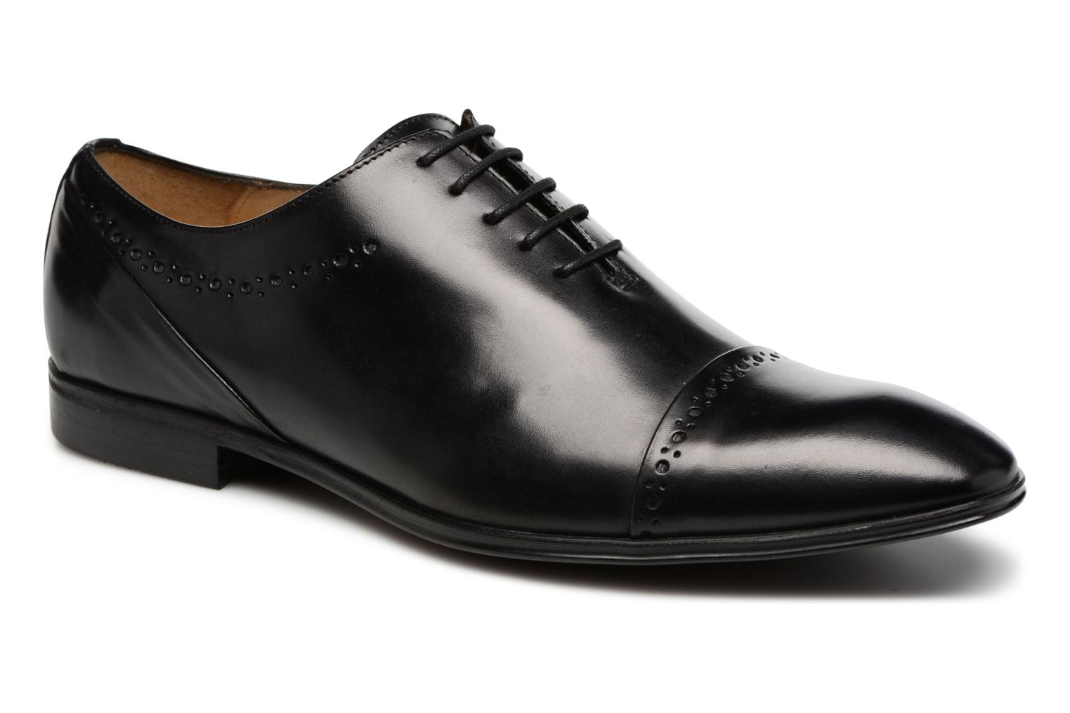 Lace-up shoes Marvin&co Tarbert Black detailed view/ Pair view
