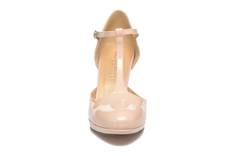 High heels Georgia Rose Sialto salomé Beige model view