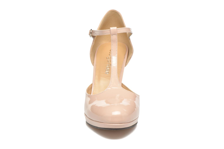 Escarpins Georgia Rose Sialto salomé Beige vue portées chaussures