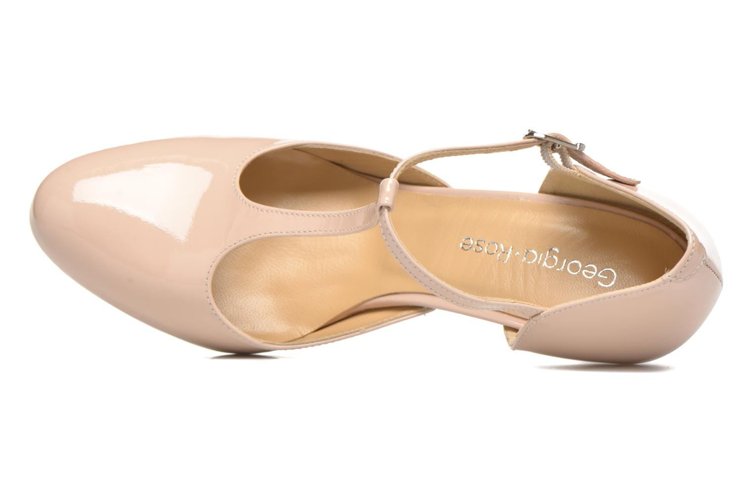 High heels Georgia Rose Sialto salomé Beige view from the left