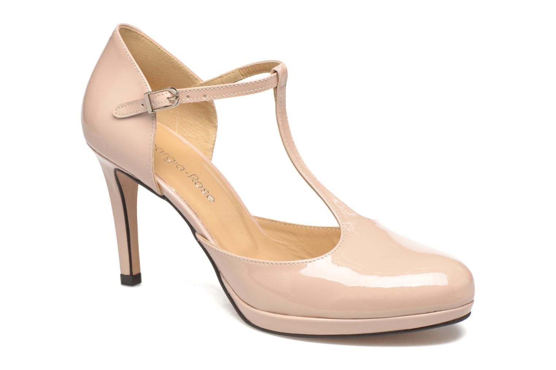 Høje hæle Georgia Rose Sialto salomé Beige detaljeret billede af skoene