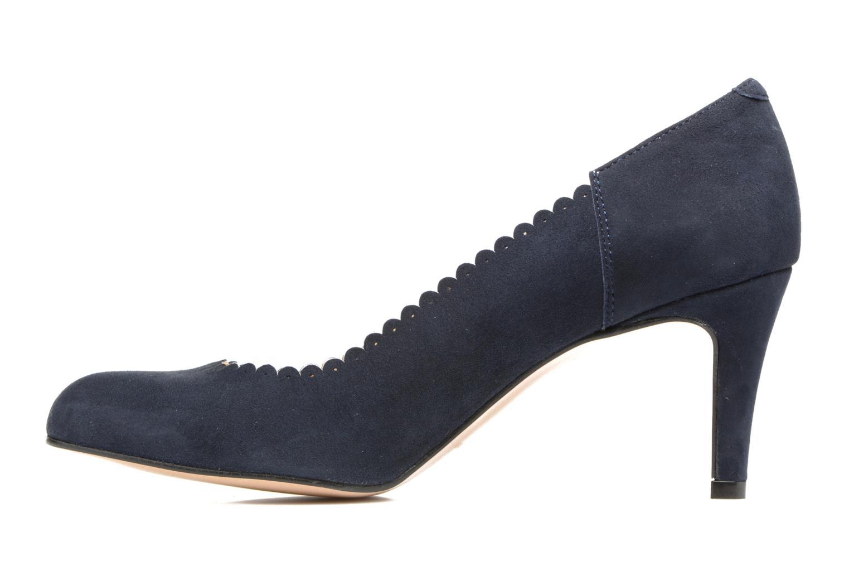 High heels Georgia Rose Saston Blue front view