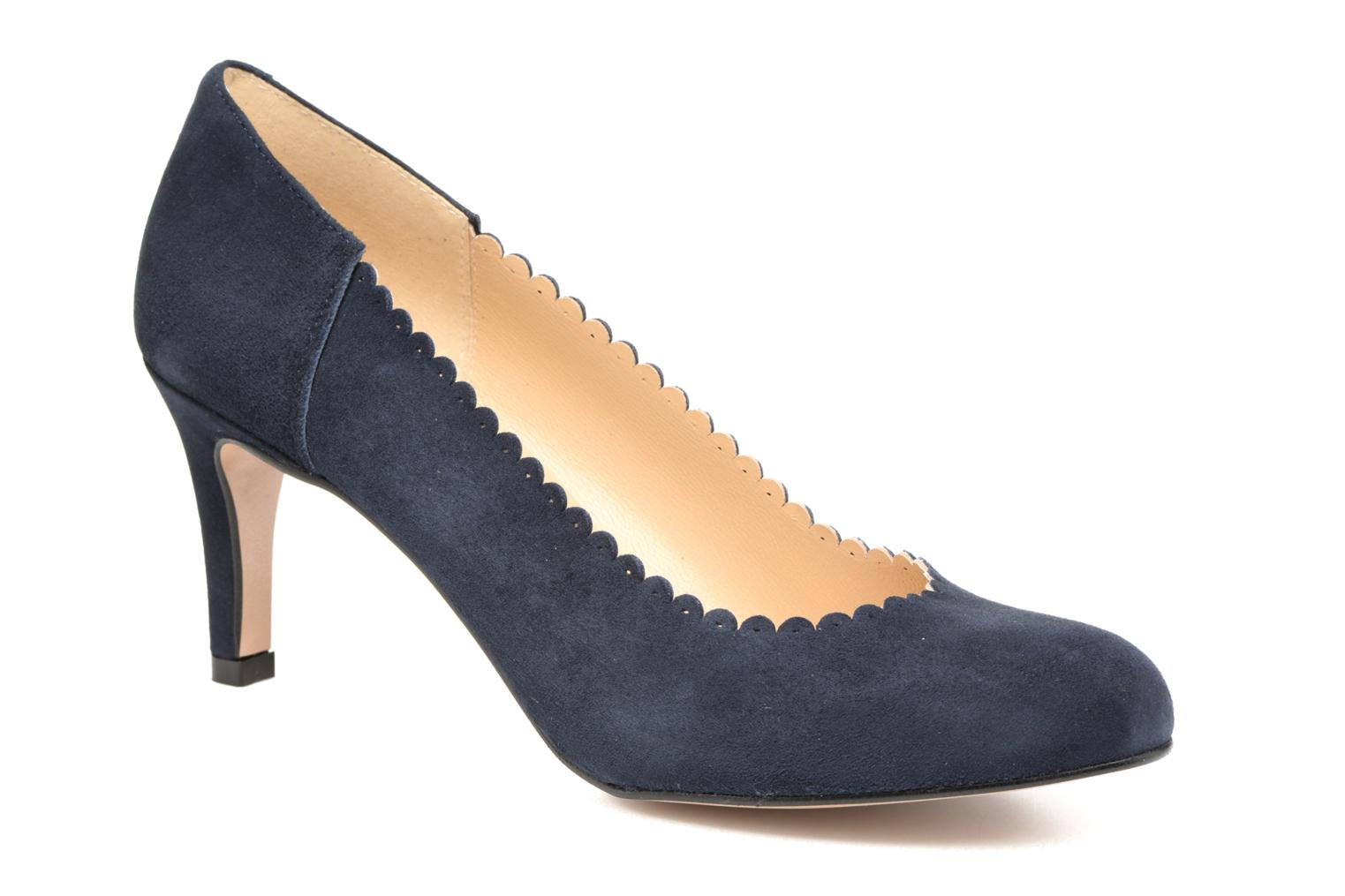 Pumps Georgia Rose Saston blau detaillierte ansicht/modell