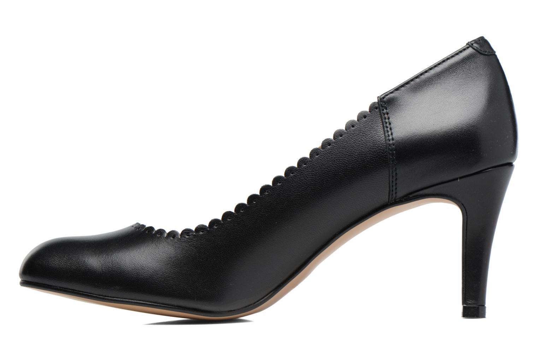 Zapatos de tacón Georgia Rose Saston Negro vista de frente