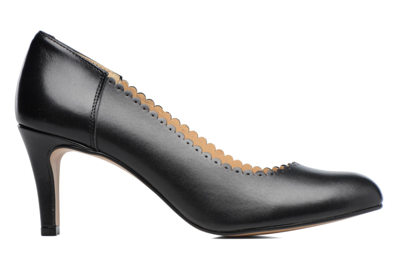 Zapatos de tacón Georgia Rose Saston Negro vistra trasera