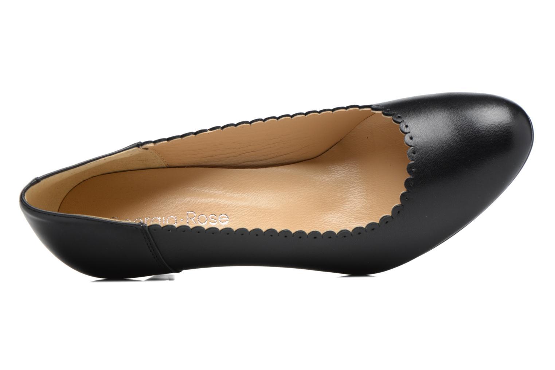 Zapatos de tacón Georgia Rose Saston Negro vista lateral izquierda