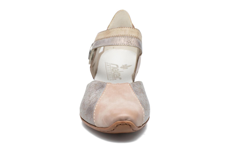 Høje hæle Rieker Coir 43716 Grå se skoene på