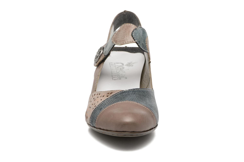 Grandes descuentos últimos zapatos Rieker Floris 45175 (Azul) - Sandalias Descuento