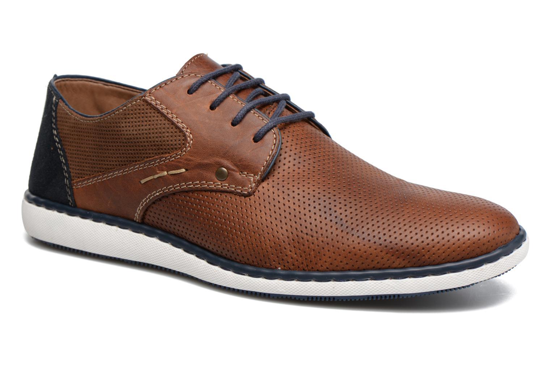 Snøresko Rieker Epke 17824 Brun detaljeret billede af skoene