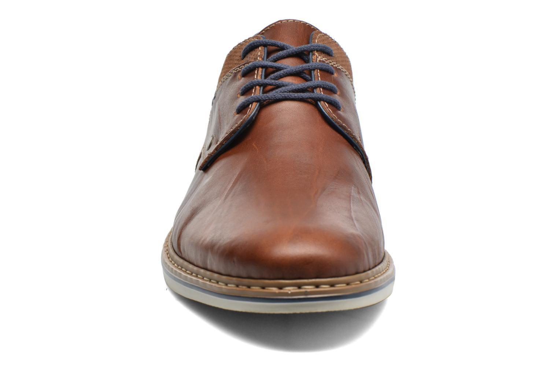 Chaussures à lacets Rieker Wouter B1403 Marron vue portées chaussures