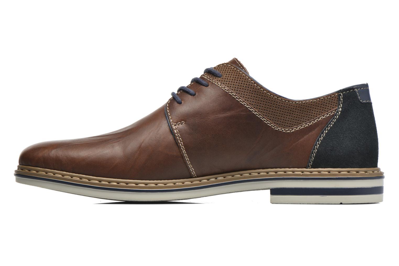 Chaussures à lacets Rieker Wouter B1403 Marron vue face
