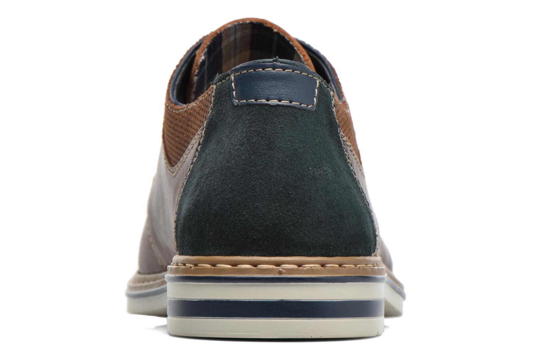 Chaussures à lacets Rieker Wouter B1403 Marron vue droite