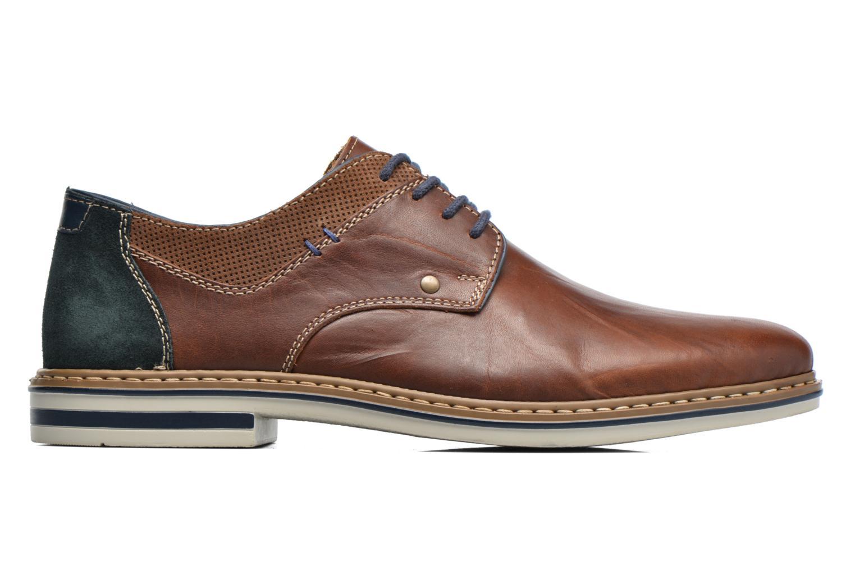 Chaussures à lacets Rieker Wouter B1403 Marron vue derrière