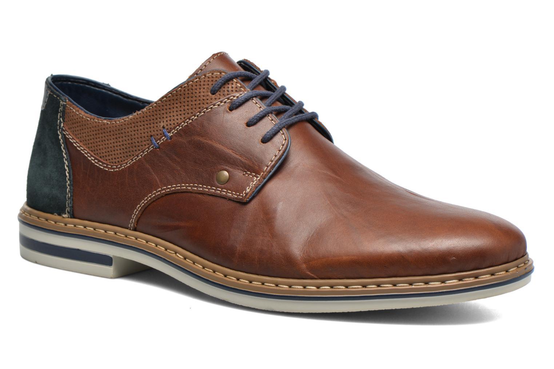 Chaussures à lacets Rieker Wouter B1403 Marron vue détail/paire