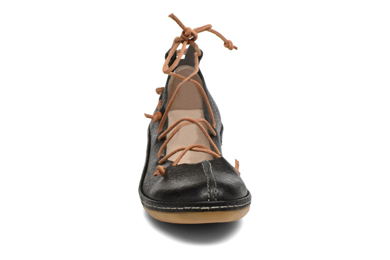 Ballerines Dkode Napea Noir vue portées chaussures