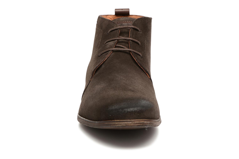 Chaussures à lacets Kost Zepi 59 Marron vue portées chaussures