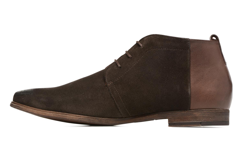 Chaussures à lacets Kost Zepi 59 Marron vue face
