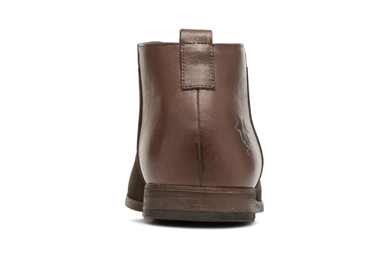 Chaussures à lacets Kost Zepi 59 Marron vue droite