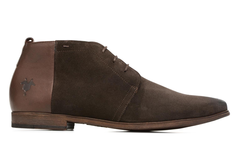 Chaussures à lacets Kost Zepi 59 Marron vue derrière