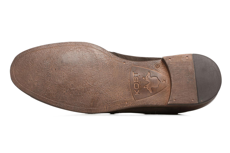 Chaussures à lacets Kost Zepi 59 Marron vue haut