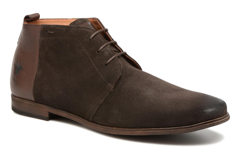 Chaussures à lacets Kost Zepi 59 Marron vue détail/paire