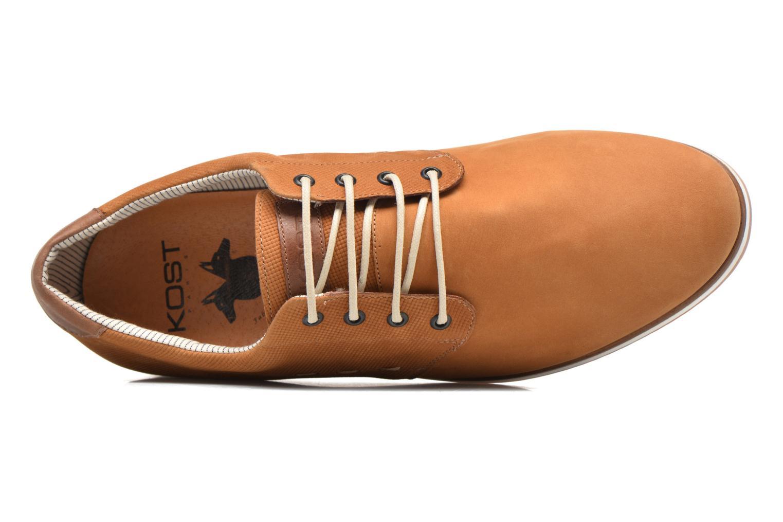 Chaussures à lacets Kost Coulsona4 Marron vue gauche