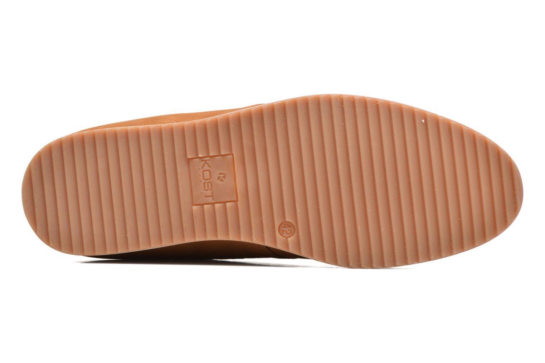 Chaussures à lacets Kost Coulsona4 Marron vue haut