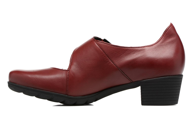 Zapatos de tacón Mephisto Ielena Rojo vista de frente