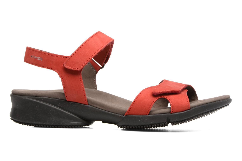 Sandales et nu-pieds Mephisto Francesca Rouge vue derrière