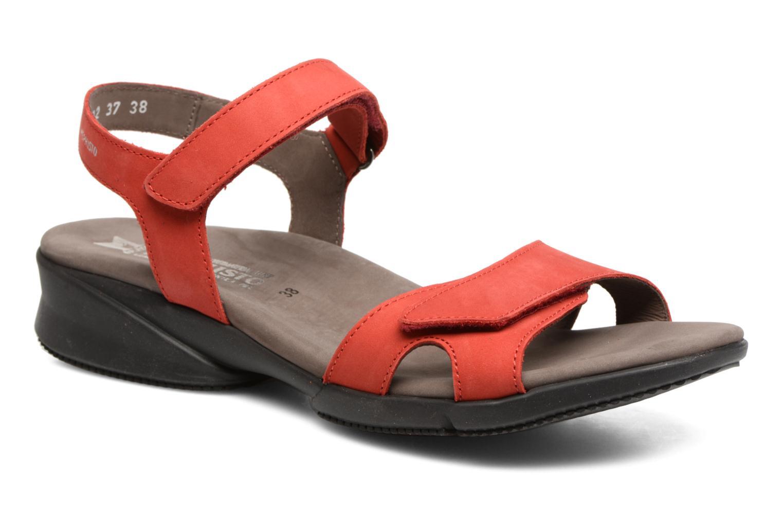 Sandales et nu-pieds Mephisto Francesca Rouge vue détail/paire