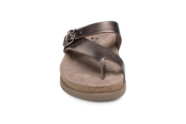 Sandales et nu-pieds Mephisto Helen Or et bronze vue portées chaussures