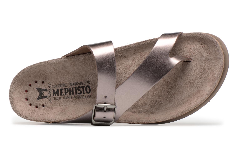Sandales et nu-pieds Mephisto Helen Or et bronze vue gauche