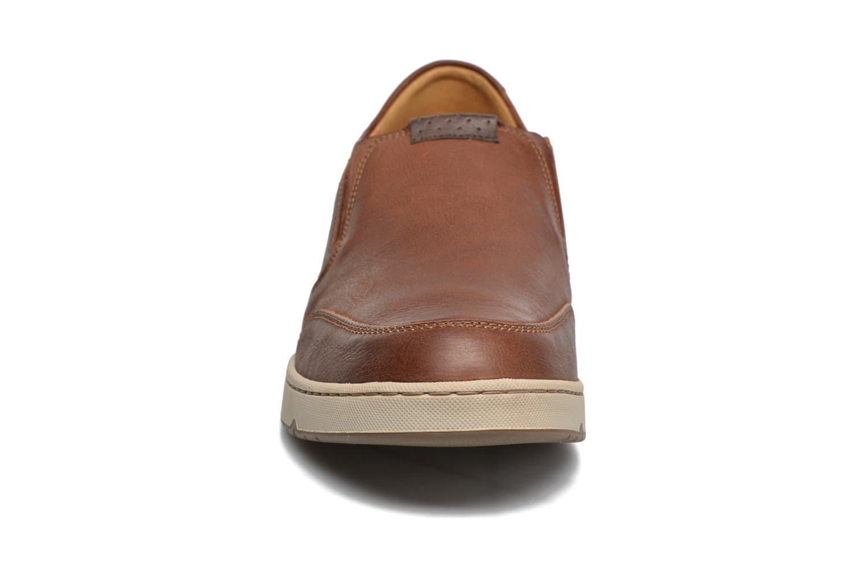 Mocassins Mephisto Joss Marron vue portées chaussures