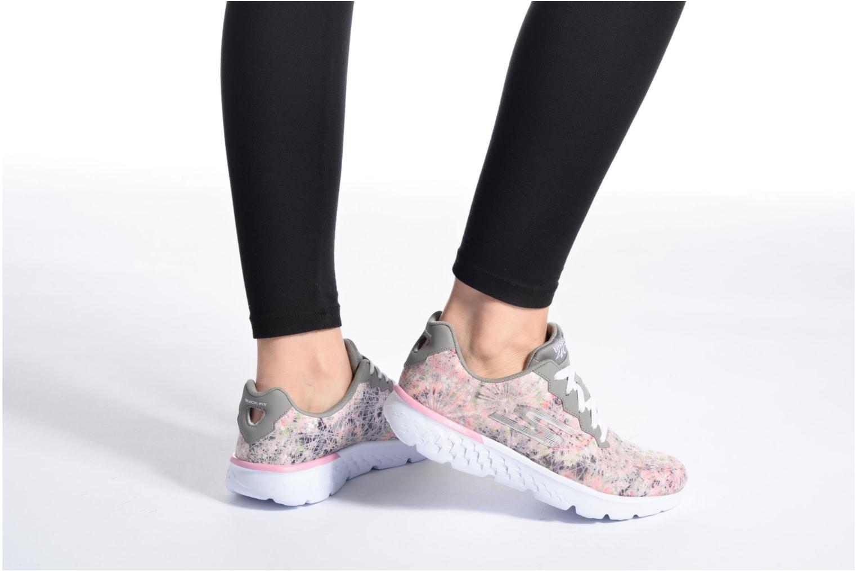 GO Run 400 Velocity Gray/Light Pink