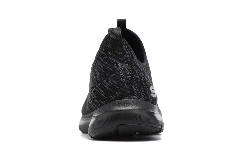 Baskets Skechers Flex Appeal 2.0 Insights Noir vue droite