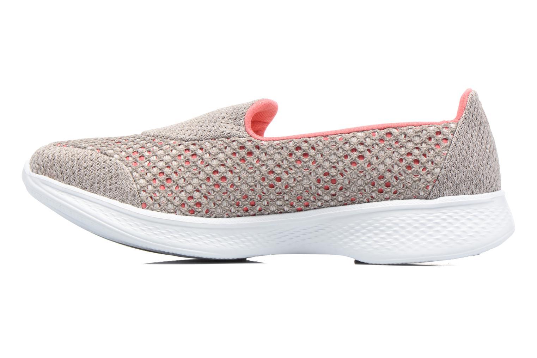 Zapatillas de deporte Skechers GO Walk 4 Kindle Gris vista de frente