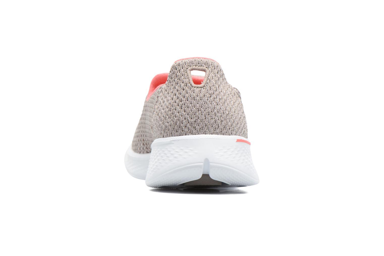 Zapatillas de deporte Skechers GO Walk 4 Kindle Gris vista lateral derecha