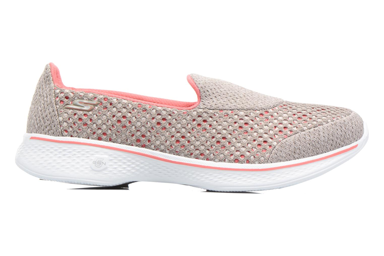 Sport shoes Skechers GO Walk 4 Kindle Grey back view
