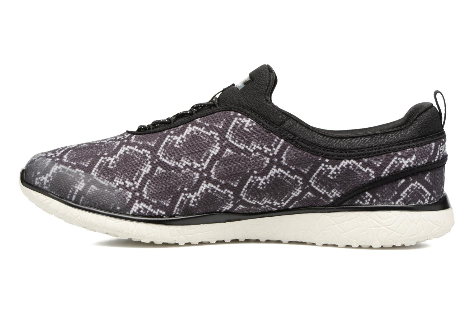 Trainers Skechers Microburst Mamba Black front view
